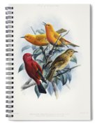 Laysan Honeycreeper Spiral Notebook