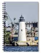 Lazaretto Point Lighthouse Spiral Notebook