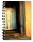 Lazy Afternoon At Kings Street In Charleston Sc Spiral Notebook