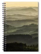 Lazy Afternoon In Beskid Spiral Notebook