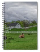 Lazy Afternoon In The Country Spiral Notebook