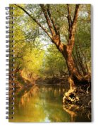 Lazy Afternoon On The Creek 2 Spiral Notebook