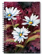 Lazy Daisies Spiral Notebook