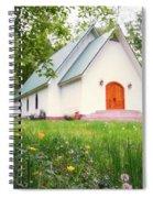 Lazy G Church Spiral Notebook
