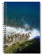 Lazy Waves Spiral Notebook