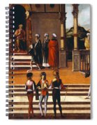 Lazzaro Bastiani Spiral Notebook