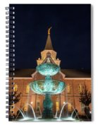 Lds Provo City Center Temple 2 Spiral Notebook