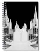 Lds - Twin Towers 2 Spiral Notebook