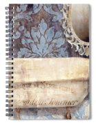 Le Bain Paris Blue Spiral Notebook