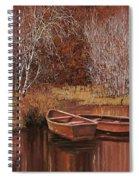 Le Barche Sullo Stagno Spiral Notebook
