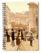 Le Boulevard St Denis - Paris Spiral Notebook