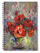 Le Bouquet De Valentine Spiral Notebook