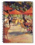 Le Cafe Du Jardin  Spiral Notebook