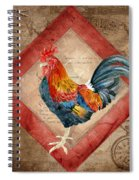 Le Coq - Timeless Rooster  Spiral Notebook