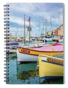 Le Fortune At Nice Harbor, France Spiral Notebook