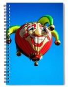 Le Fou Du Roi Spiral Notebook