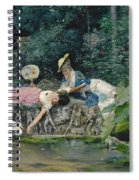 Le Heron Familier Spiral Notebook
