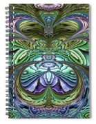Le Jardin Secret Spiral Notebook