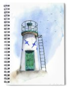 Le Phare Spiral Notebook
