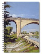 Le Pont Canal A Briare Spiral Notebook