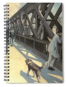 Le Pont De L'europe Spiral Notebook