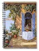 Le Porte Blu Spiral Notebook
