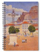 Le Puy The Sunny Plaza 1890 Spiral Notebook