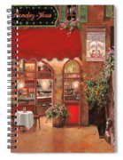 Le Rendez Vous Spiral Notebook