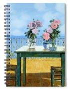 Le Rose E Il Balcone Spiral Notebook