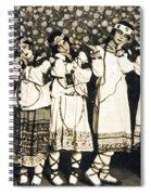 Le Sacre Du Printemps Spiral Notebook