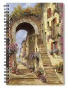Le Scale E Un Arco Spiral Notebook