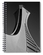 Le Stade Olympique De Montreal Spiral Notebook