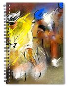 Le Tour De France 05 Spiral Notebook