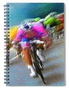 Le Tour De France 09 Spiral Notebook