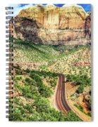 Lead Me To Zion Spiral Notebook