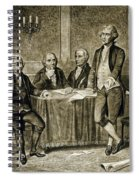 Leaders Of The First Continental Congress Spiral Notebook