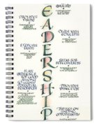 Leadership Spiral Notebook