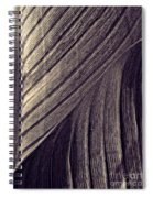 Leaf Abstract  24  Sepia   Spiral Notebook