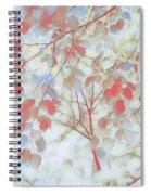 Leaf Me 4 Spiral Notebook