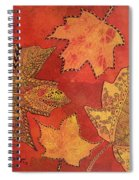 Leaf Prints And Zentangles Spiral Notebook