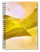 Leaf Y Spiral Notebook