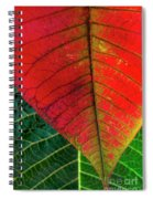 Leafs Macro Spiral Notebook