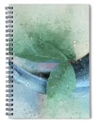 Leafy Pipe Spiral Notebook