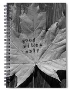 Leafy Vibes Spiral Notebook