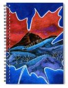Leafy Vision  Spiral Notebook