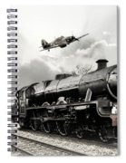 Leander And Hurricane Spiral Notebook