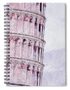 Leaning Tower Of Pisa - 03 Spiral Notebook