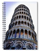 Leaning Tower Of Pisa In Tuscany, Italy Spiral Notebook
