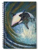Leap Of Joy Spiral Notebook