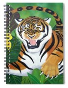 Leaping Tiger Spiral Notebook